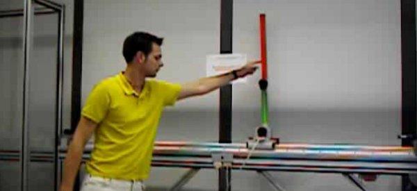 Vidéo : Un robot qui équilibre un double pendule inversé