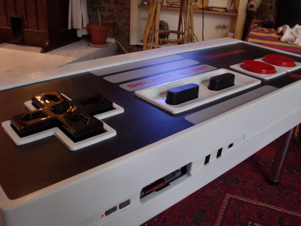 La table basse Nintendo  Shermix