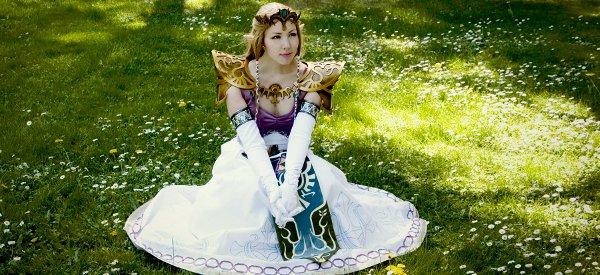 Cosplay : Un magnifique costume de la princesse Zelda