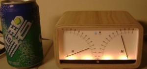DIY : Fabriquer une horloge geek au look de vu-mètres analogiques
