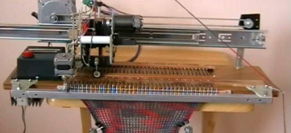 DIY : Fabriquer une machine à tricoter avec des vieilles imprimantes