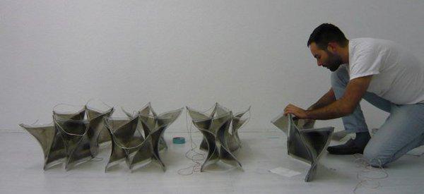ShapeShift : une expérience avec un polymère qui se déforme avec de l'électricité
