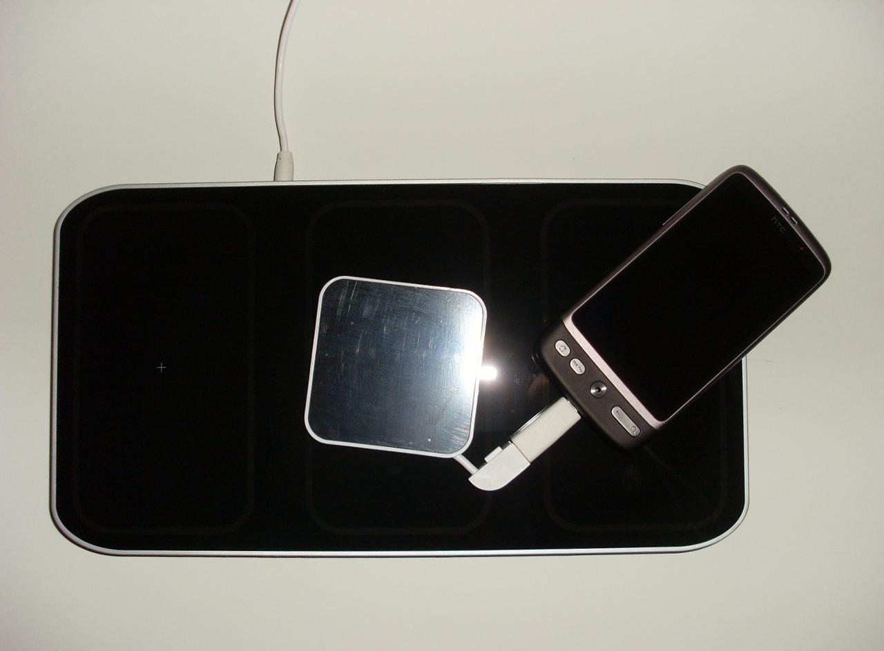 test du getpowerpad un chargeur sans fil induction pour appareils mobiles semageek. Black Bedroom Furniture Sets. Home Design Ideas