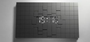 Art du temps : Une horloge de salon design vraiment magnifique.