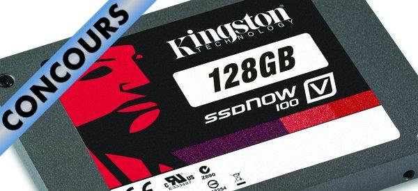 Concours : Gagnez un SSDNow V100 128 Go avec Kingston et Semageek