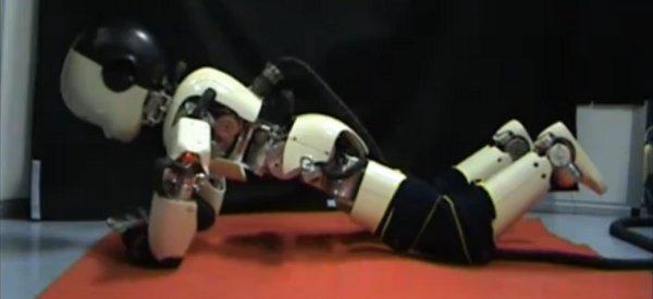 Eye of the Tiger : Quand le robot iCub se prend pour Rocky