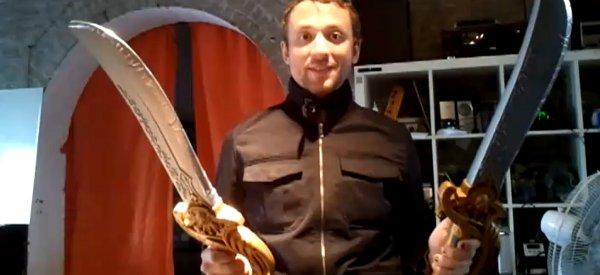 DIY : Le sabre qui envoi des décharges électriques de 800 Volts