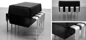 Terra Octet : Une gamme de mobilier basée sur l'univers des composants électroniques
