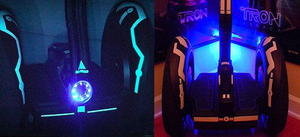 Tron Segway u2 : Un Segway customisé au look de Tron Legacy