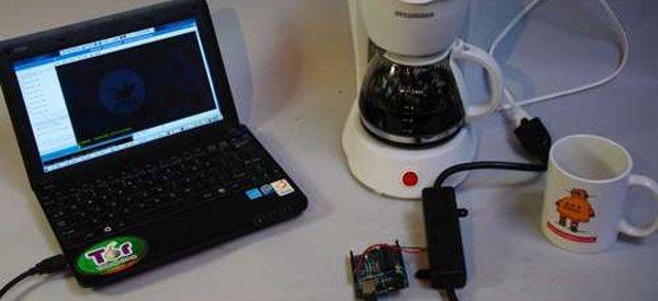 Tweet-a-pot : Faites couler un café à distance à l'aide d'un kit Arduino et de Twitter
