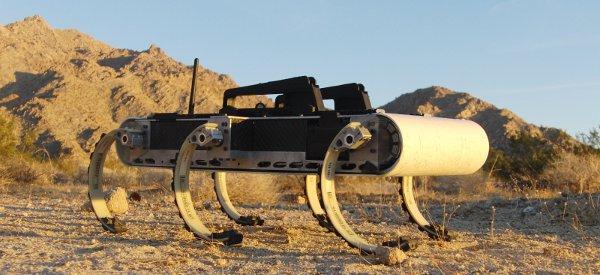 X-RHex : Le Robot Hexapedales qui passe vraiment partout