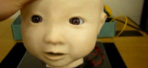 Affetto : Le robot enfant avec des expressions faciales très réalistes