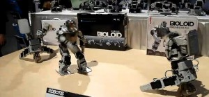 Robotis : Une démonstration de robots Bioloid en BreakDance