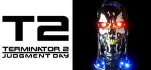 T2 : Une statue de Terminator T-800 plus vrai que nature.