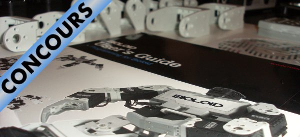 Concours : Gagnez un Robotis BIOLOID Beginner Kit avec Best Of Robots et Semageek