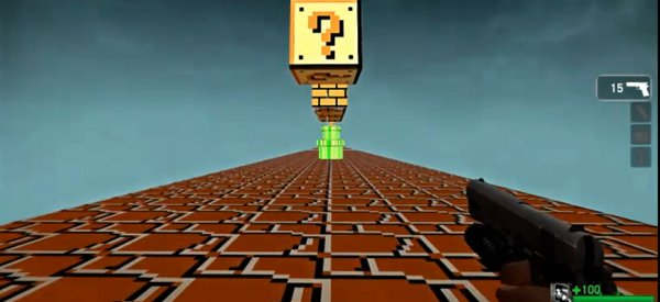 Mashup Improbable : Une map Super Mario Bros pour Left 4 Dead