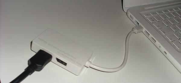 Test et avis de l'adaptateur Mini DisplayPort 3 en 1 vers HDMI, DVI et Displayport - MacWay
