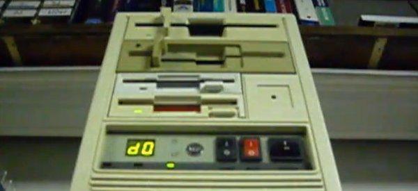 Phantom of the Floppera : La Toccata et Fugue revisitée par quatre lecteurs de disquettes