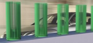 Voltair : Un concept de générateur d'énergie électrique à base d'éoliennes pour les routes.