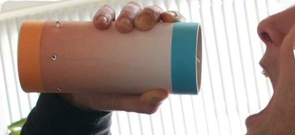 DIY : Fabriquer un Sound Tube pour transmettre un message audio dans un tube