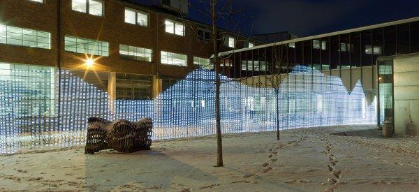 Immaterials : Visualiser les ondes WIFI dans la ville à l'aide de LED