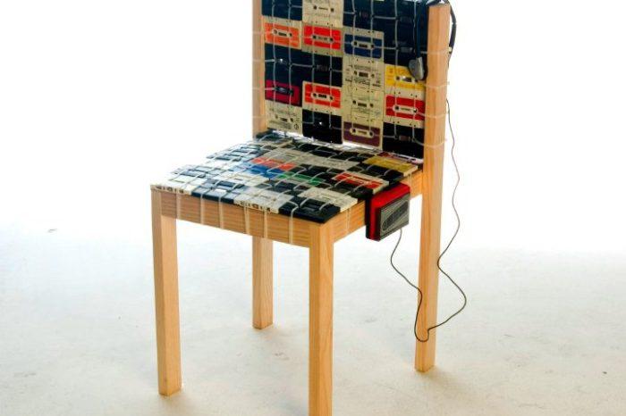 DIY : Le rempaillage de chaise en version K7