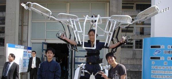 Skeletonics : Un robot exosquelette totalement mécanique