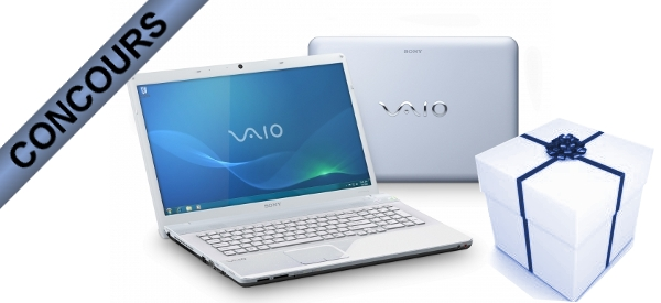 Concours : Gagnez un SONY Vaio VPC-EF3E1E avec AMD et Semageek