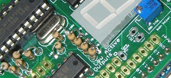 Arduino : Un shield DTMF qui affiche directement les fréquences vocales