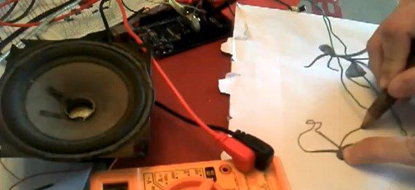 Drawduino : Fabriquer le Drawdio de Célestin avec un Arduino