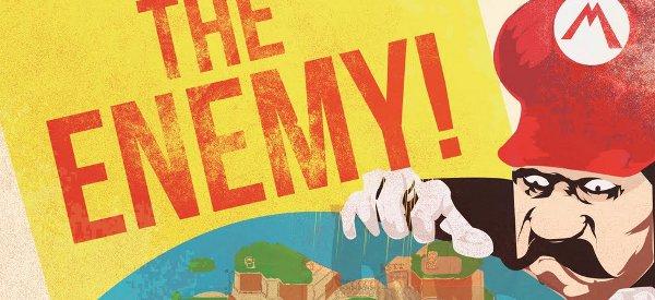 Graphisme : Une campagne d'affiches de propagande pour Super Mario Bros.