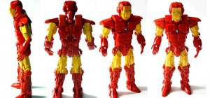 La magnifique sculpture d'Iron Man en Lego d'Orion Pax