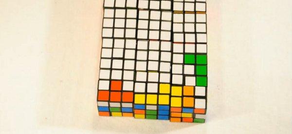 Vidéo : Voici comment jouer une partie de Tetris avec des Rubik's Cube