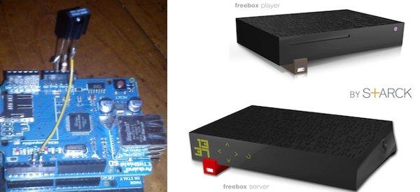 Freebox V6 : Fabriquer un récepteur infrarouge pour les télécommandes universelles
