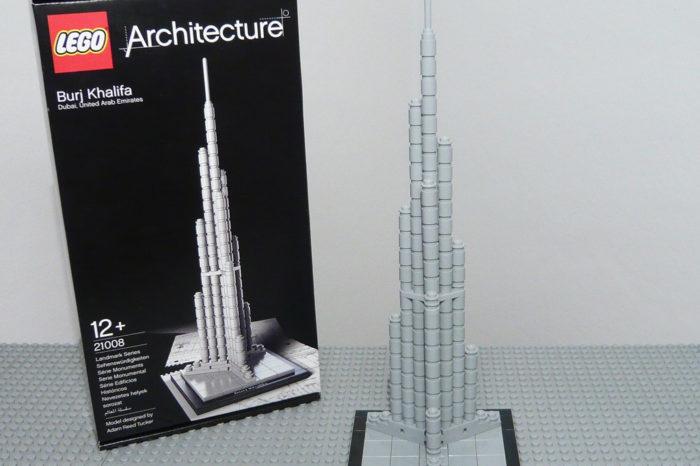 Vidéo : Stop motion de la construction de la tour Burj Khalifa en Lego Architecture