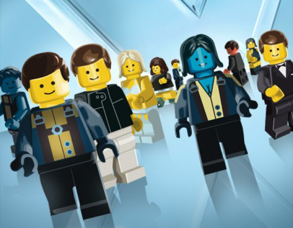 Les affiches des films de cet été en version LEGO