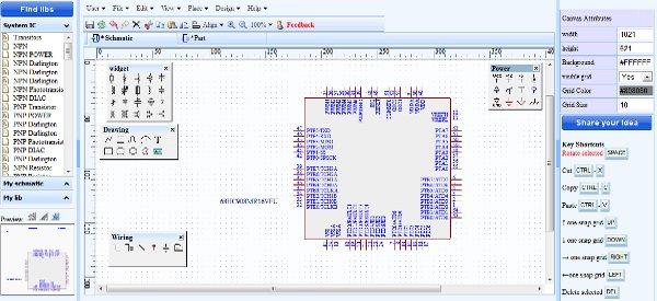 DrawSCH : Un outil pour dessiner des schémas électroniques en ligne