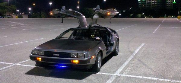 Ecto88 : La voiture de geek par excellence sur une base de DeLorean