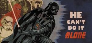 Graphisme : Une campagne d'affiches de propagande pour Star Wars.