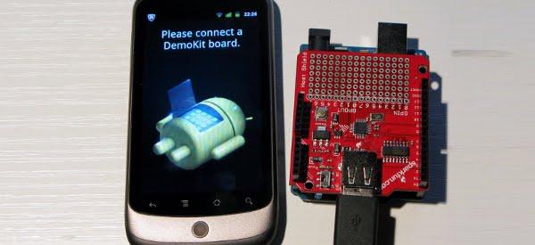 DIY : Le DemoKit de l'Android ADK réalisé avec un Arduino UNO et un shield USB