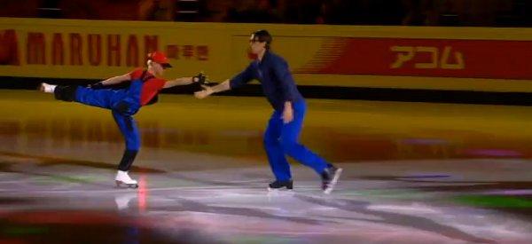 WTF : Une chorégraphie Super Mario Bros en patinage artistique