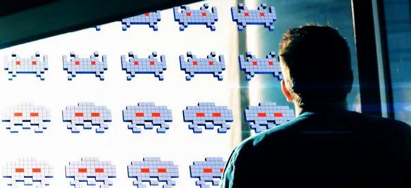Vidéo : Intégration de Space Invaders dans la vie réelle