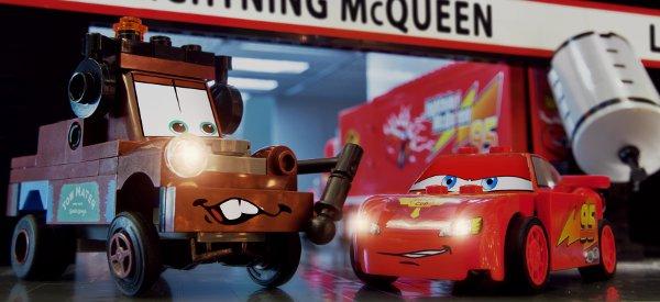 Vidéo : La bande annonce en stop motion de Cars 2 réalisé avec des LEGO
