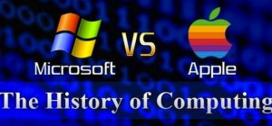 Infographie : Microsoft Vs Apple