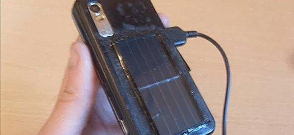 DIY : Fabriquer une coque solaire pour recharger votre téléphone portable