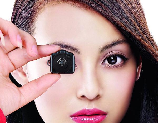 Gadget : DV59, La plus petite mini caméra espion HD...