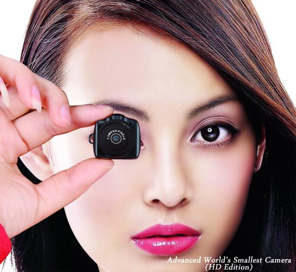 Gadget : DV59, La plus petite mini caméra espion HD