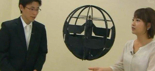 Innovation : Le drone sphérique du gouvernement Japonais qui a coûté moins de 1000$