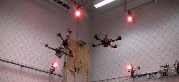Fail : Une compilation de d'expériences ratées avec les Quadrotors du GRASP Lab