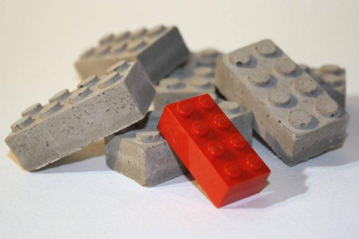 Concrete Building Blocks : Des LEGO en béton